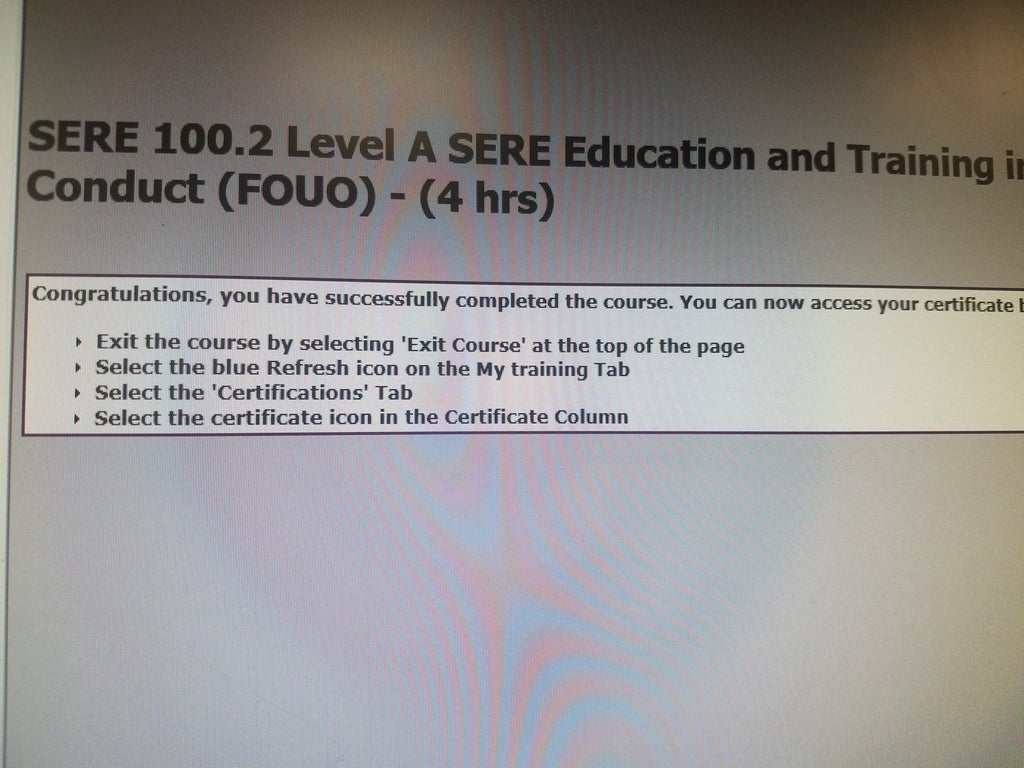 sere 100.2 test answers