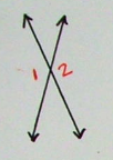 Vertical angle theorem