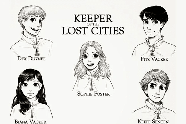 keeper of the lost cities quiz