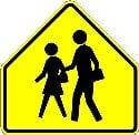 School Zone - reduce speed when children are present
