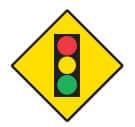 Signal lights ahead
